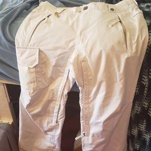 686 white snowboard pants